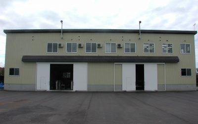 第3工場 内部は作業スペースとなっております。